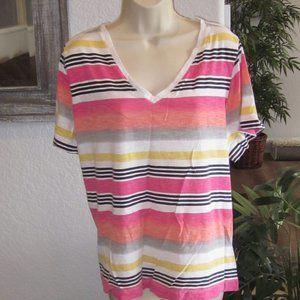 Womens Plus Size Clothes Top Shirt Avenue 2X 22 24